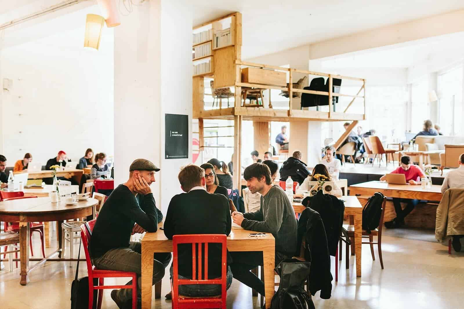 Benefits of Coworking: Behaus Berlin coworking Coworking: The New Way to Work benefits of coworking betahaus berlin