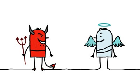 The Devil and The Angel procrastination Situation Analysis To Counter Procrastination Paralysis the devil and the angel
